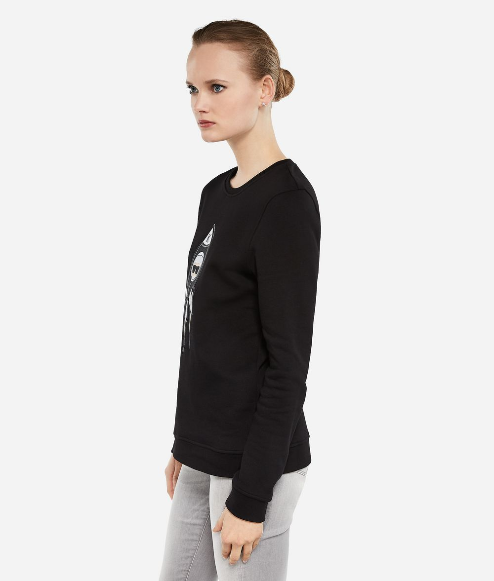 KARL LAGERFELD Karl Space Sweatshirt Sweatshirt Damen d