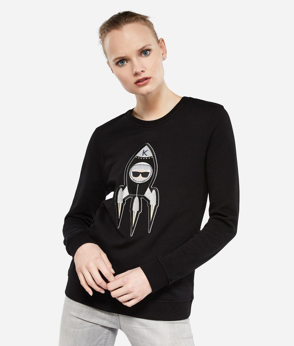KARL LAGERFELD Karl Space Sweatshirt Sweatshirt Damen f