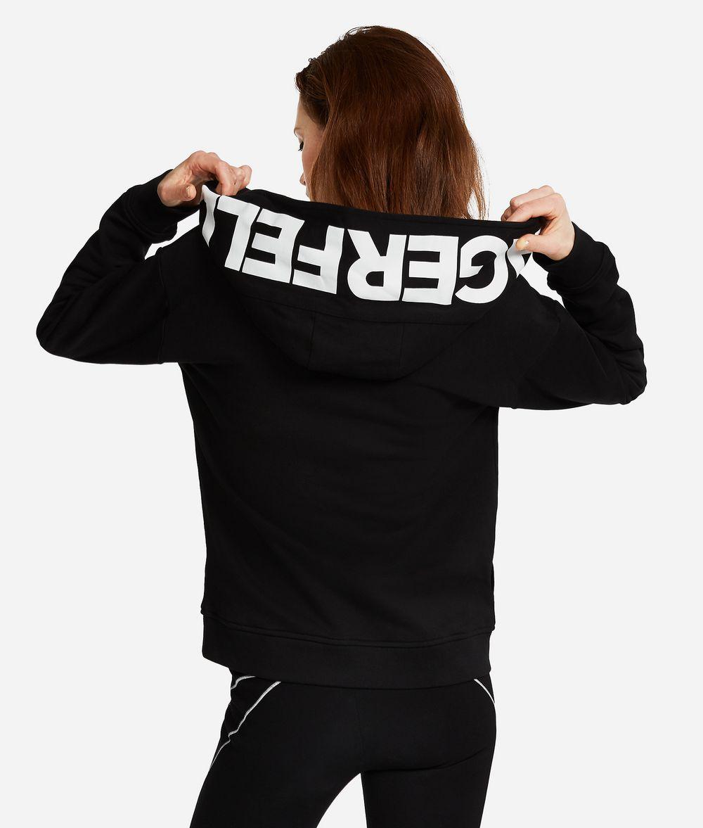 KARL LAGERFELD Logo-Hoodie Sweatshirt Damen d