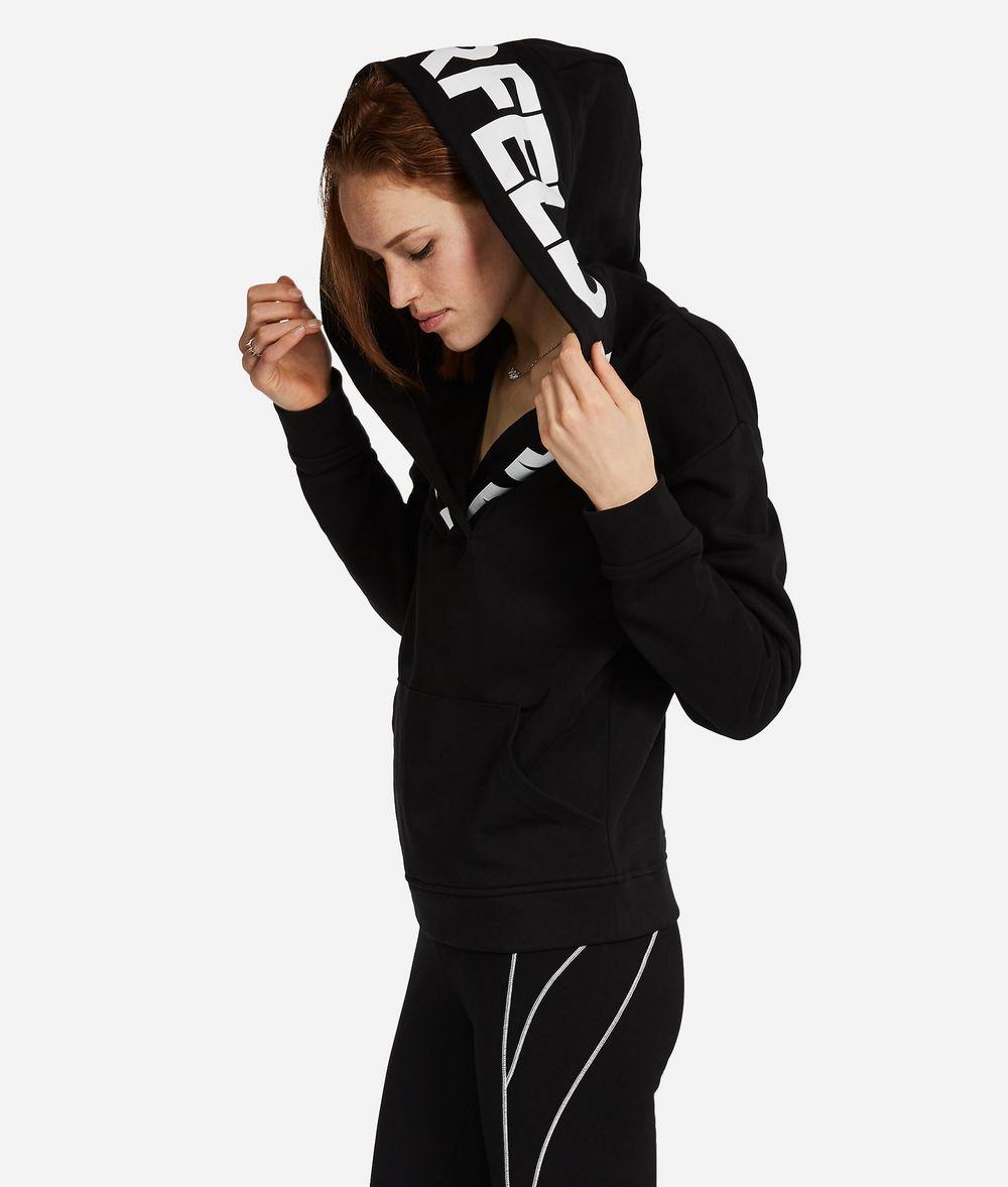 KARL LAGERFELD Logo-Hoodie Sweatshirt Damen f