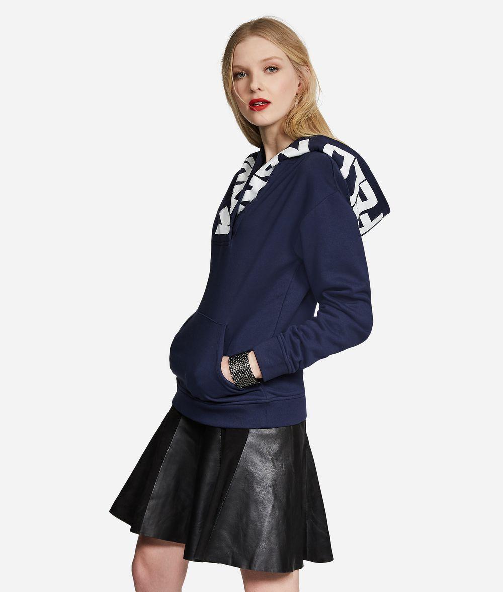 KARL LAGERFELD Logo Hoodie Sweatshirt Woman d