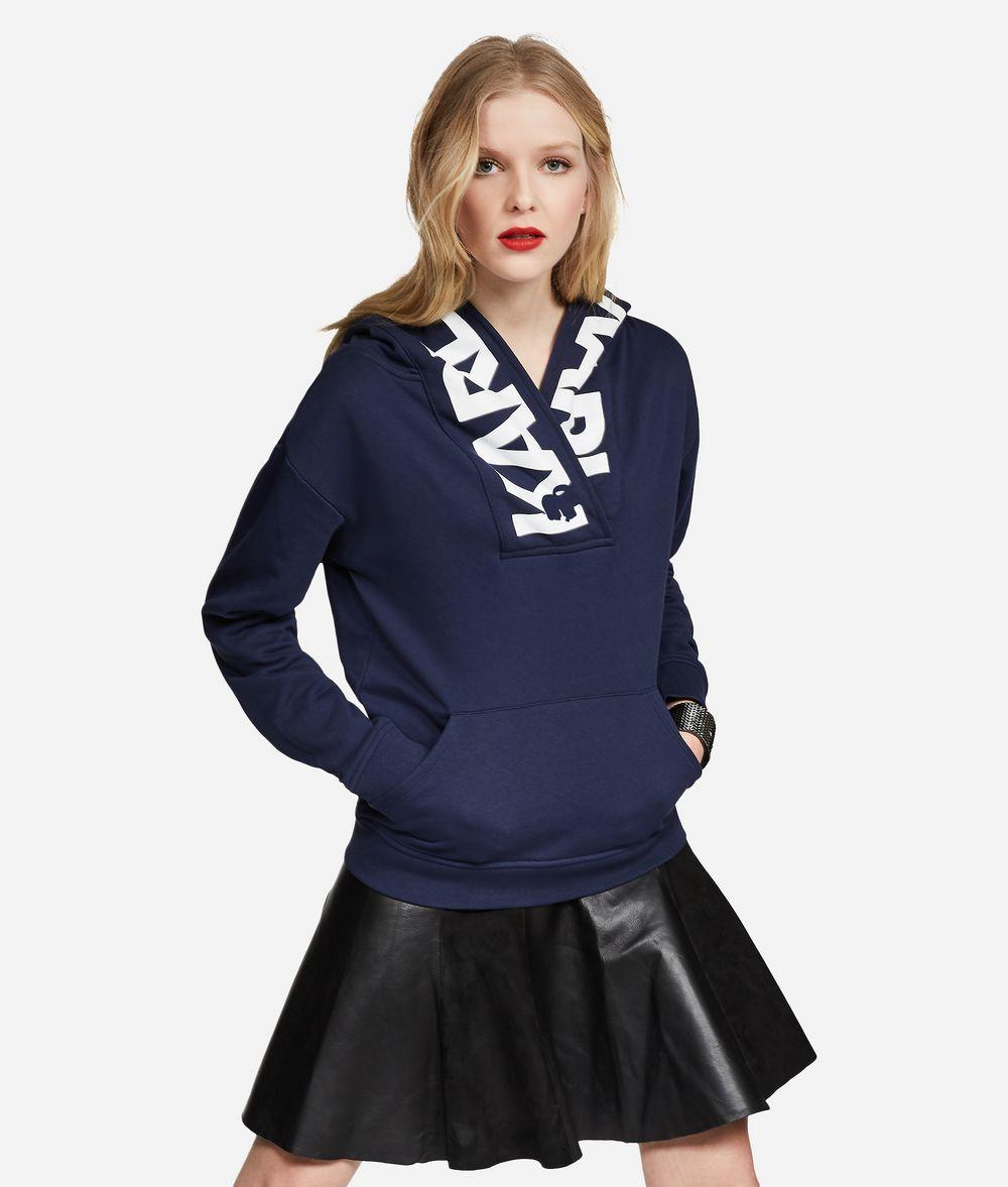 KARL LAGERFELD Logo Hoodie Sweatshirt Woman f