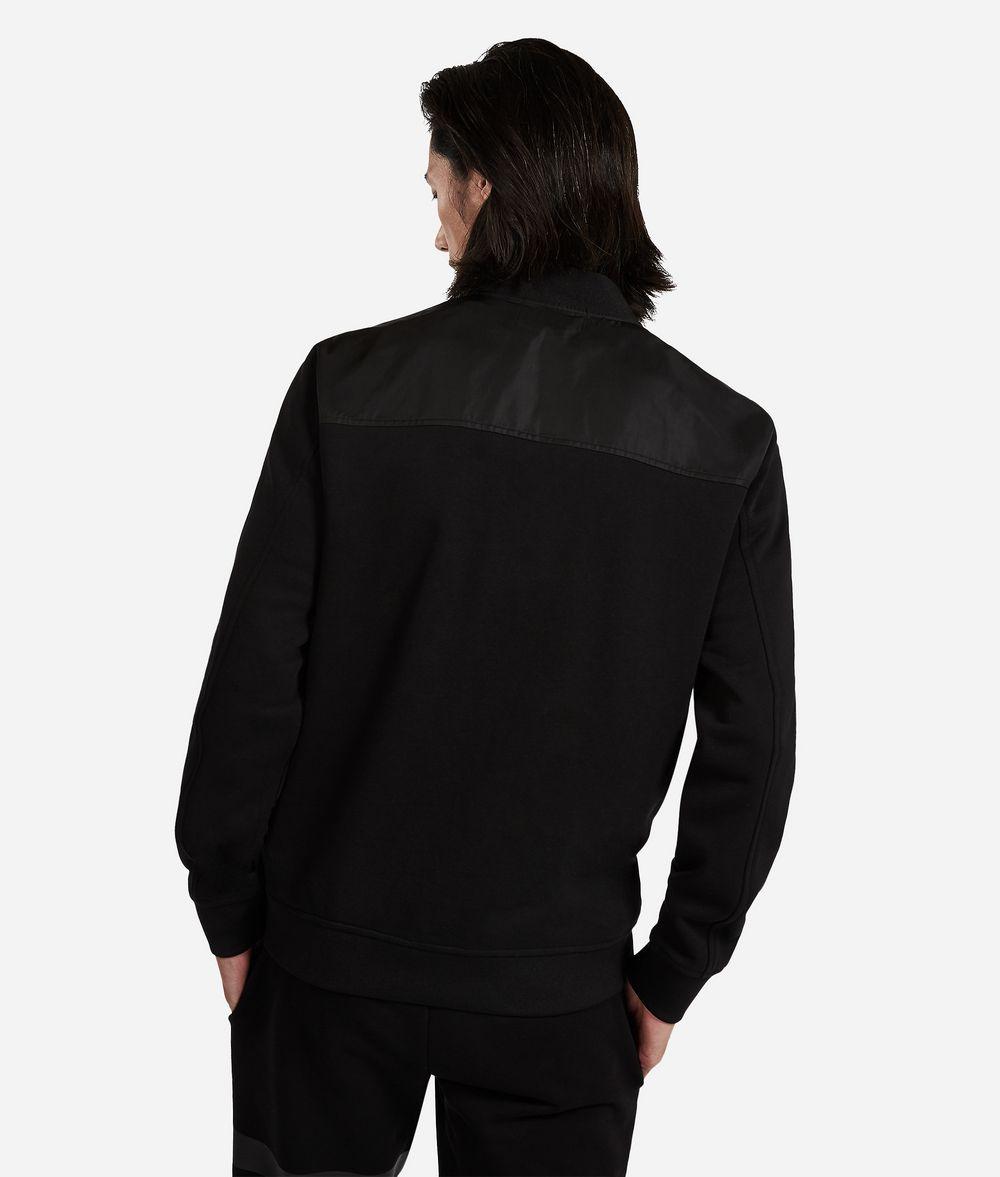 KARL LAGERFELD Jersey Bomber Jacket Sweatshirt Man d