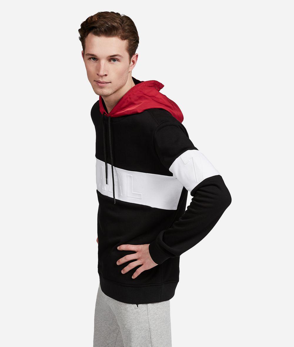 KARL LAGERFELD Logo Hoodie  Sweatshirt Man d