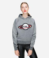 KARL LAGERFELD Karl Space Kurzer Hoodie 9_f