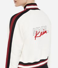KARL LAGERFELD Karl X Kaia Zip-Up Sweatshirt 9_f