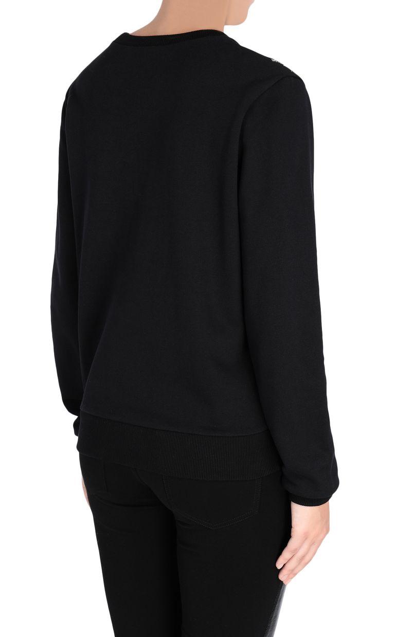JUST CAVALLI Sweatshirt with fringe detail Sweatshirt [*** pickupInStoreShipping_info ***] d