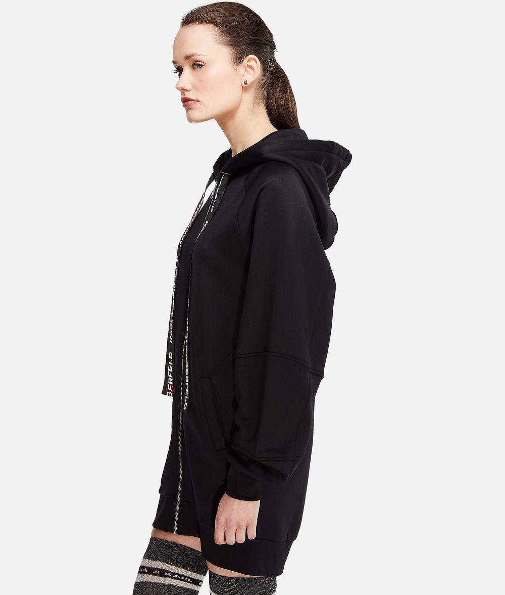 KARL LAGERFELD Karl x Kaia Oversized-Hoodie Sweatshirt Damen d
