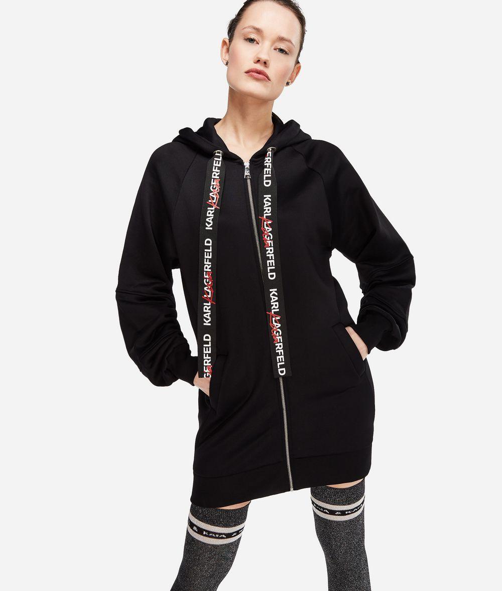KARL LAGERFELD Karl x Kaia Oversized-Hoodie Sweatshirt Damen f