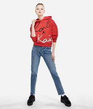 KARL LAGERFELD Karl x Kaia Cropped-Hoodie 9_f