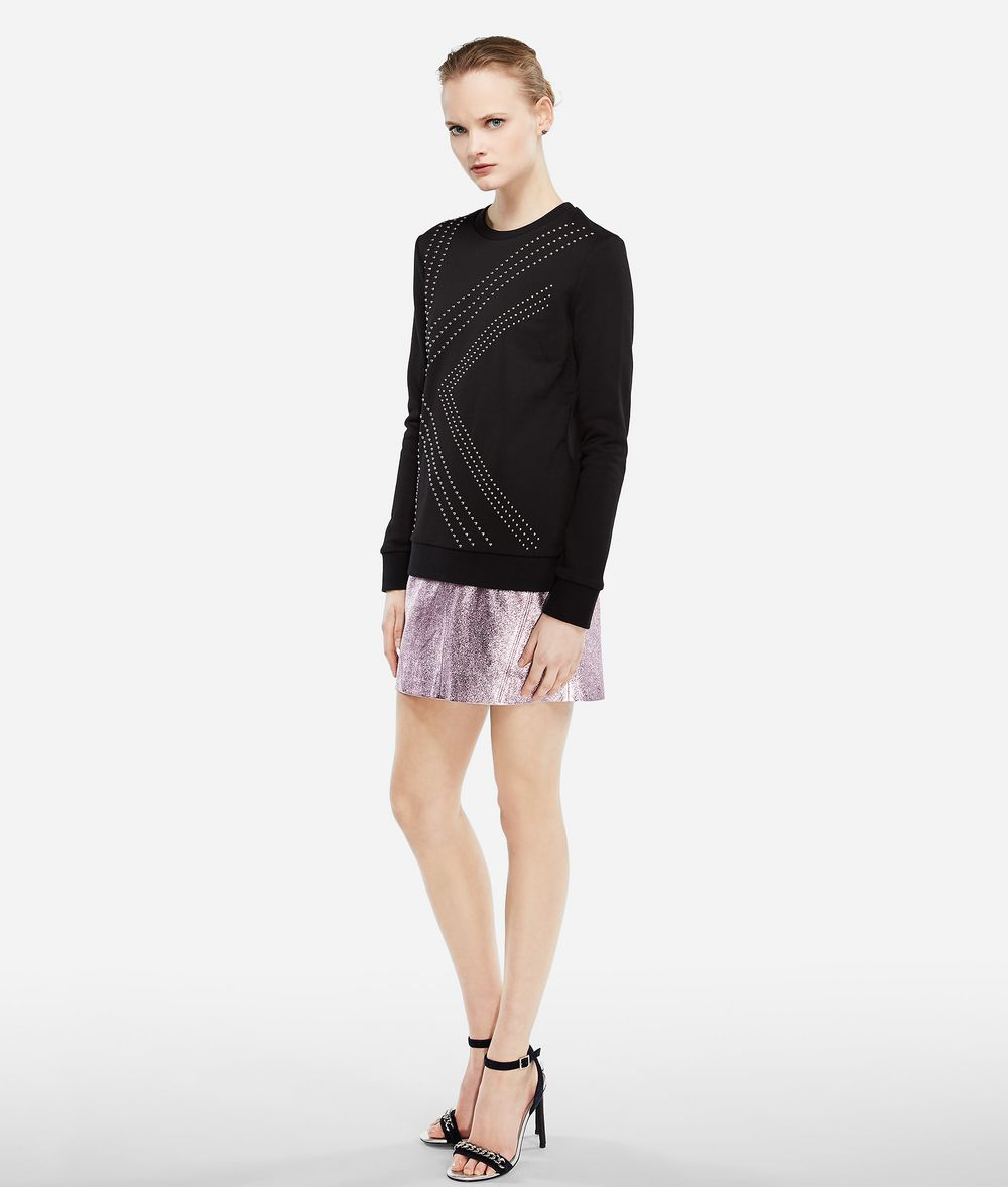 KARL LAGERFELD Karl X Kaia K Studded Sweatshirt Sweatshirt Woman d