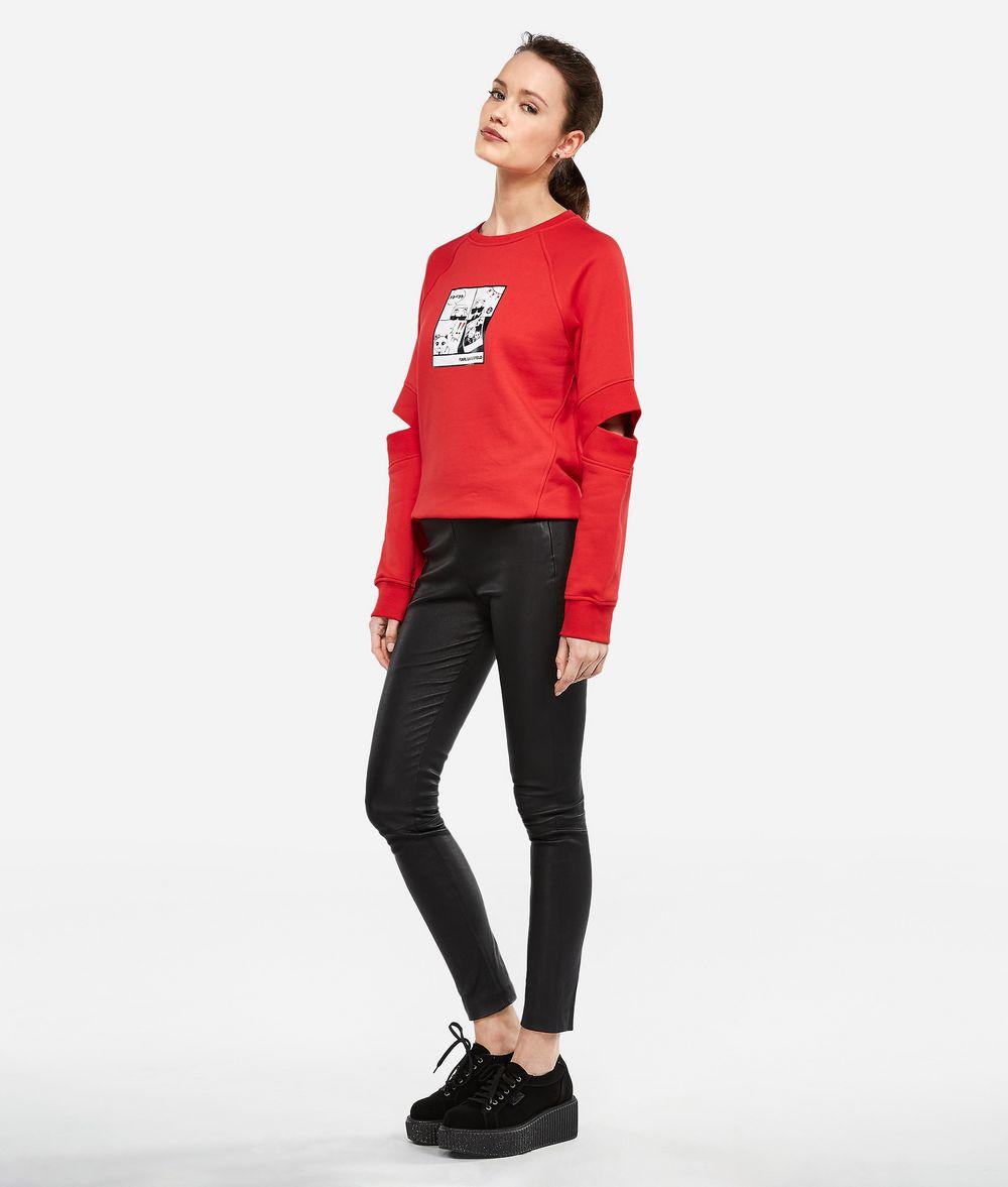 KARL LAGERFELD K/Tokyo Cut-Out Sweatshirt Sweatshirt Woman d