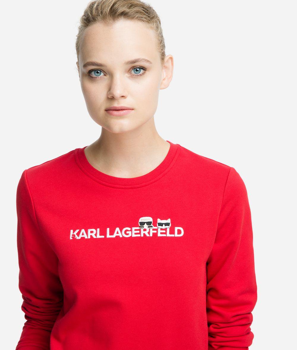 KARL LAGERFELD K/Ikonik Logo Sweatshirt Sweatshirt Woman f