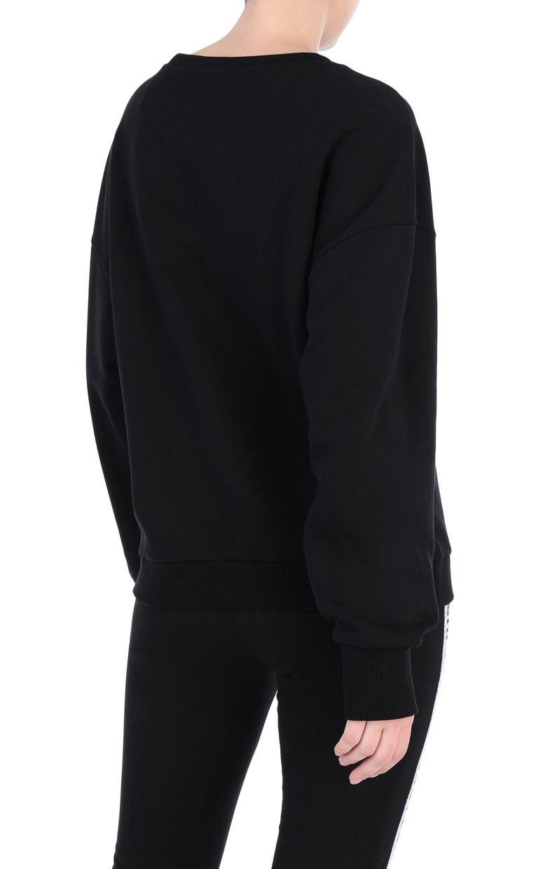 JUST CAVALLI Logoed sweatshirt with snake detail Sweatshirt [*** pickupInStoreShipping_info ***] r