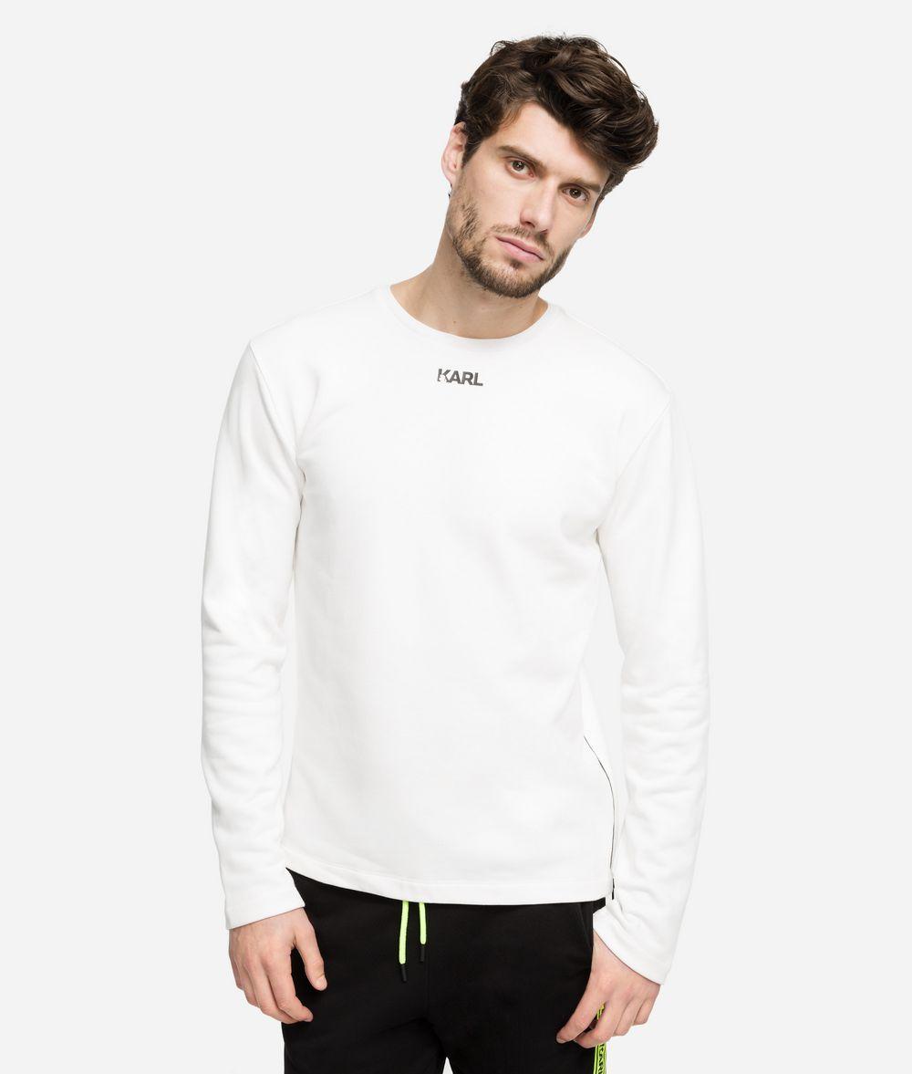 KARL LAGERFELD Logo Sweatshirt Sweatshirt Man f
