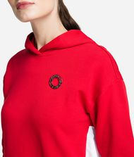 KARL LAGERFELD Hoodie with Ruffle Sweatshirt Woman d