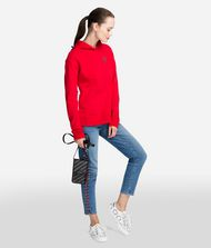 KARL LAGERFELD Hoodie with Ruffle Sweatshirt Woman e