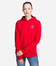 KARL LAGERFELD Hoodie with Ruffle Sweatshirt Woman f