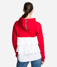 KARL LAGERFELD Hoodie with Ruffle Sweatshirt Woman r