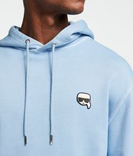 KARL LAGERFELD K/Ikonik sweat-shirt à capuche et écusson 9_f