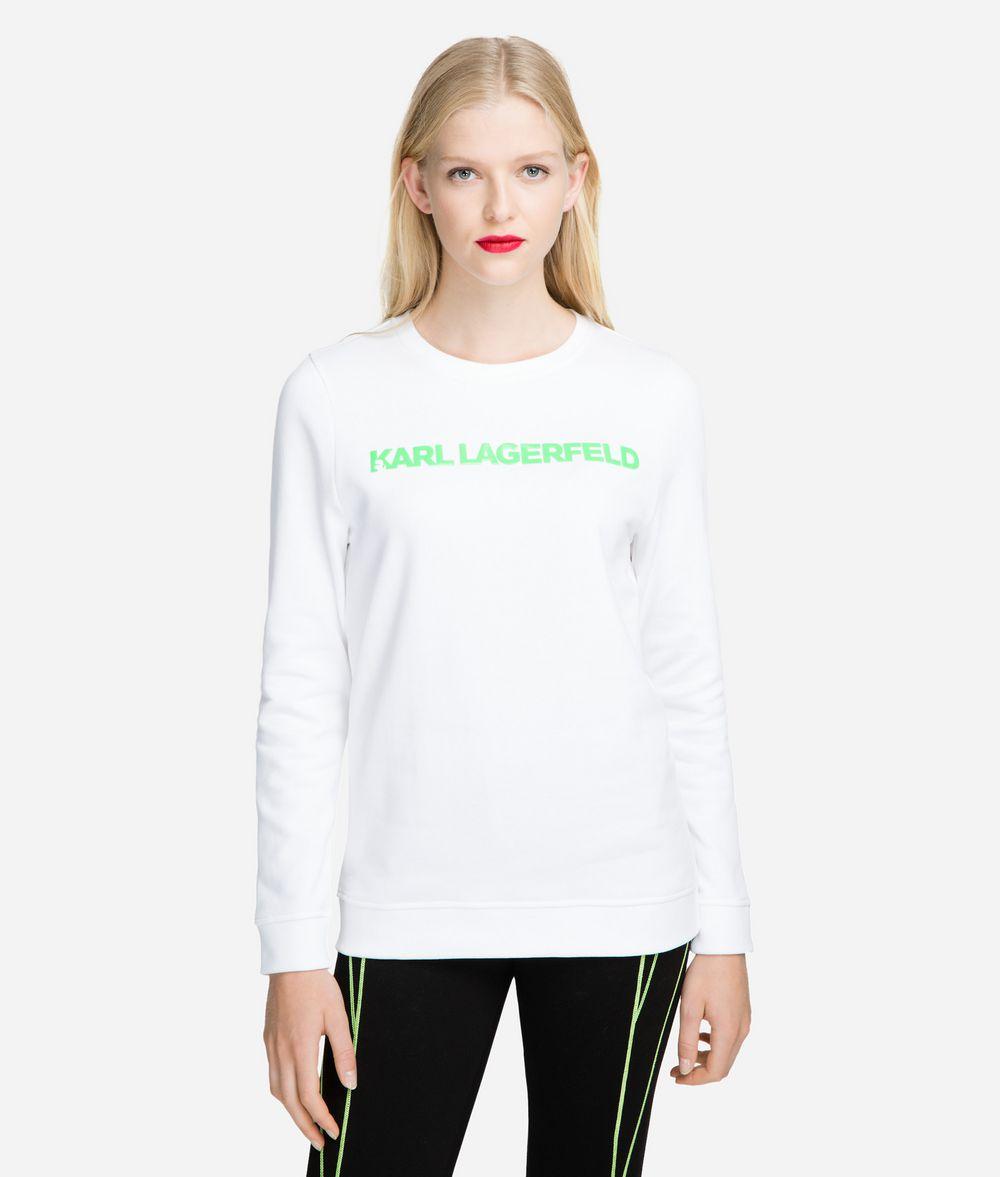KARL LAGERFELD Neon Lights Logo Sweatshirt Sweatshirt Woman f