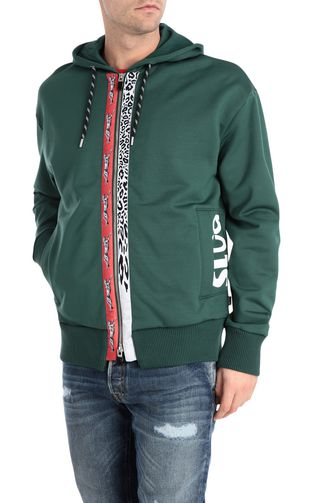 JUST CAVALLI Sweatshirt Man Sweatshirt with logo-band f