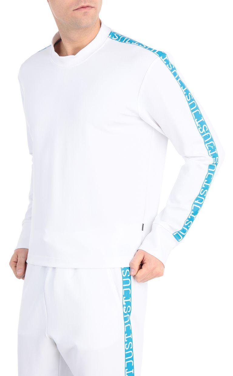 JUST CAVALLI Sweatshirt with logo-band Sweatshirt Man f