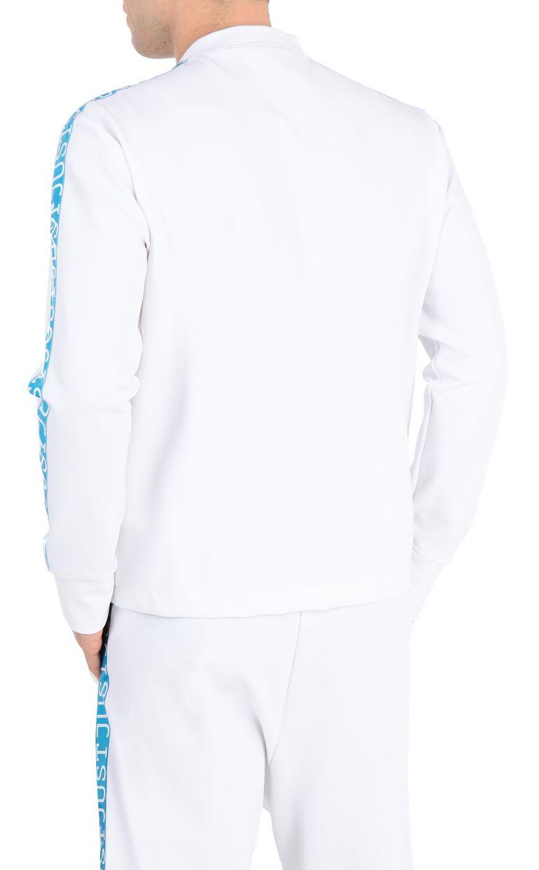 JUST CAVALLI Sweatshirt with logo-band Sweatshirt Man r
