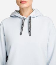 KARL LAGERFELD Fabric Mix Logo Hoodie 9_f