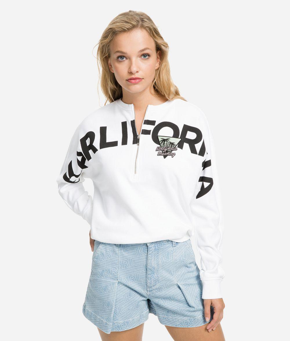 KARL LAGERFELD K/Karlifornia Cropped Sweatshirt Sweatshirt Woman f