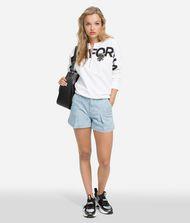 KARL LAGERFELD K/Karlifornia Cropped Sweatshirt 9_f
