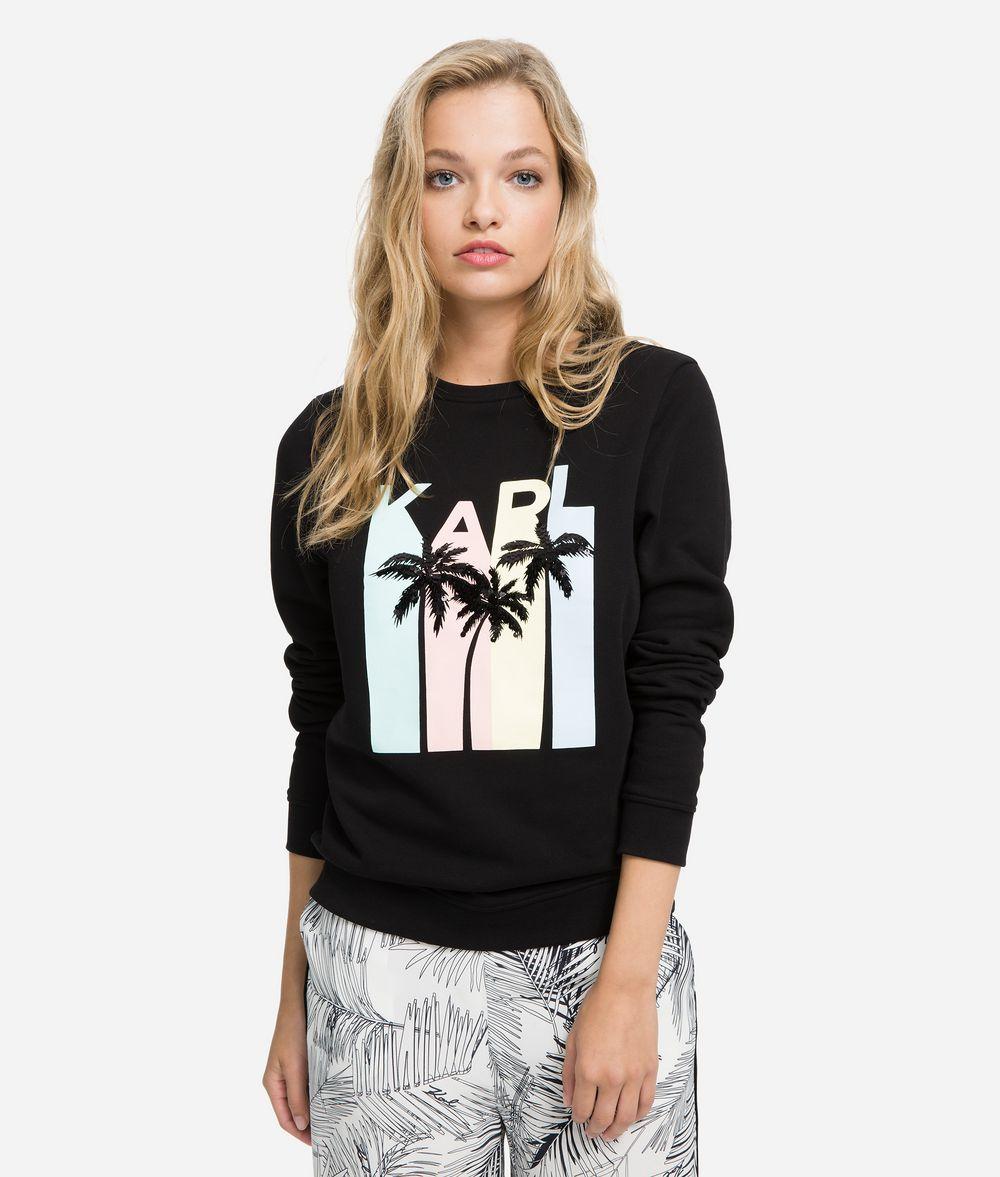 KARL LAGERFELD K/Karlifornia Logo Sweatshirt Sweatshirt Woman f