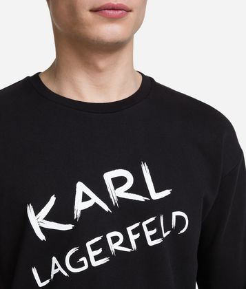 KARL LAGERFELD SWEAT-SHIRT AVEC LOGO