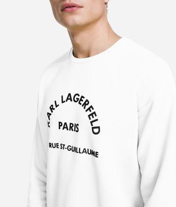 KARL LAGERFELD SWEAT-SHIRT RUE LAGERFELD
