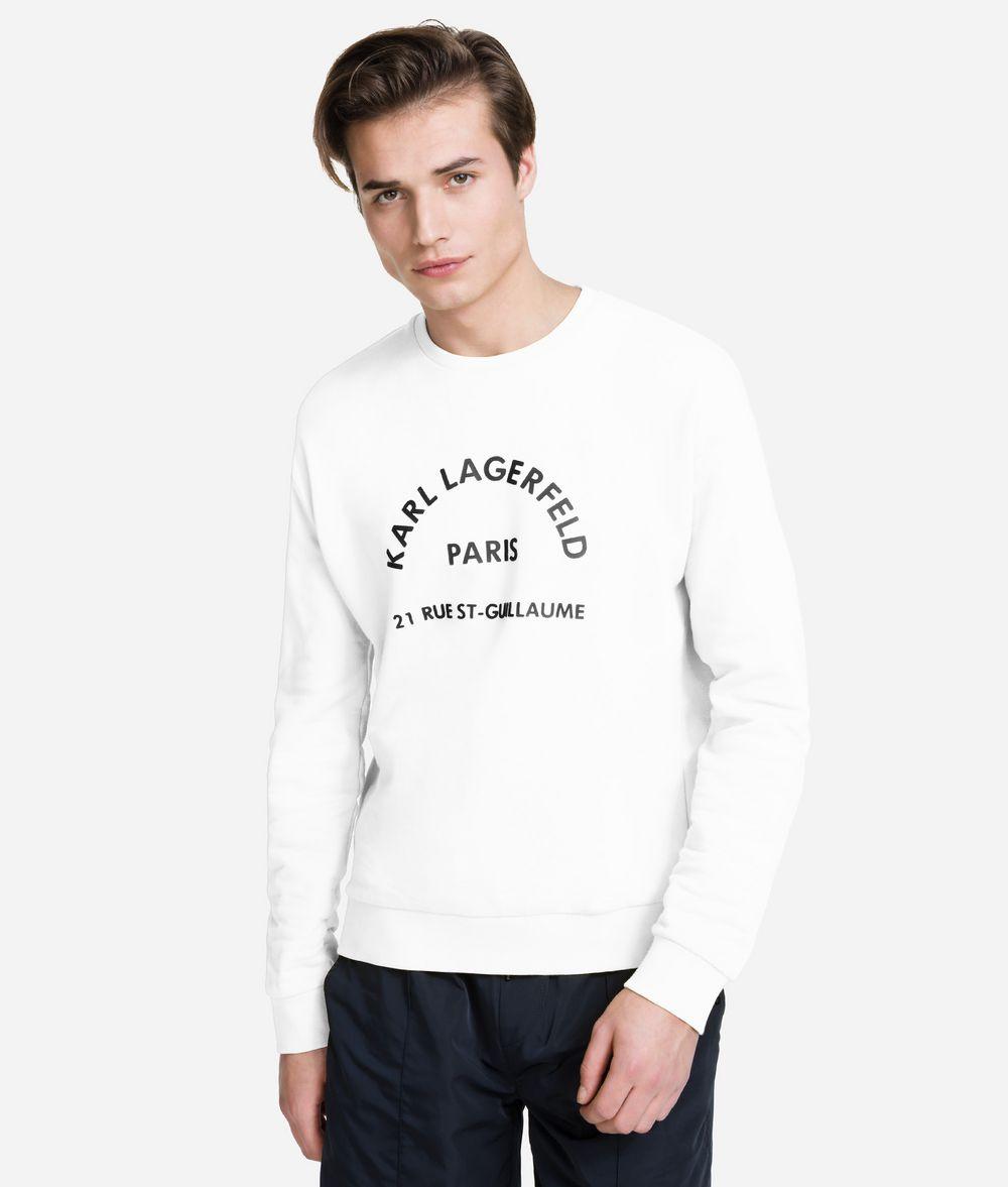 KARL LAGERFELD Rue Lagerfeld Sweatshirt Sweatshirt Man f