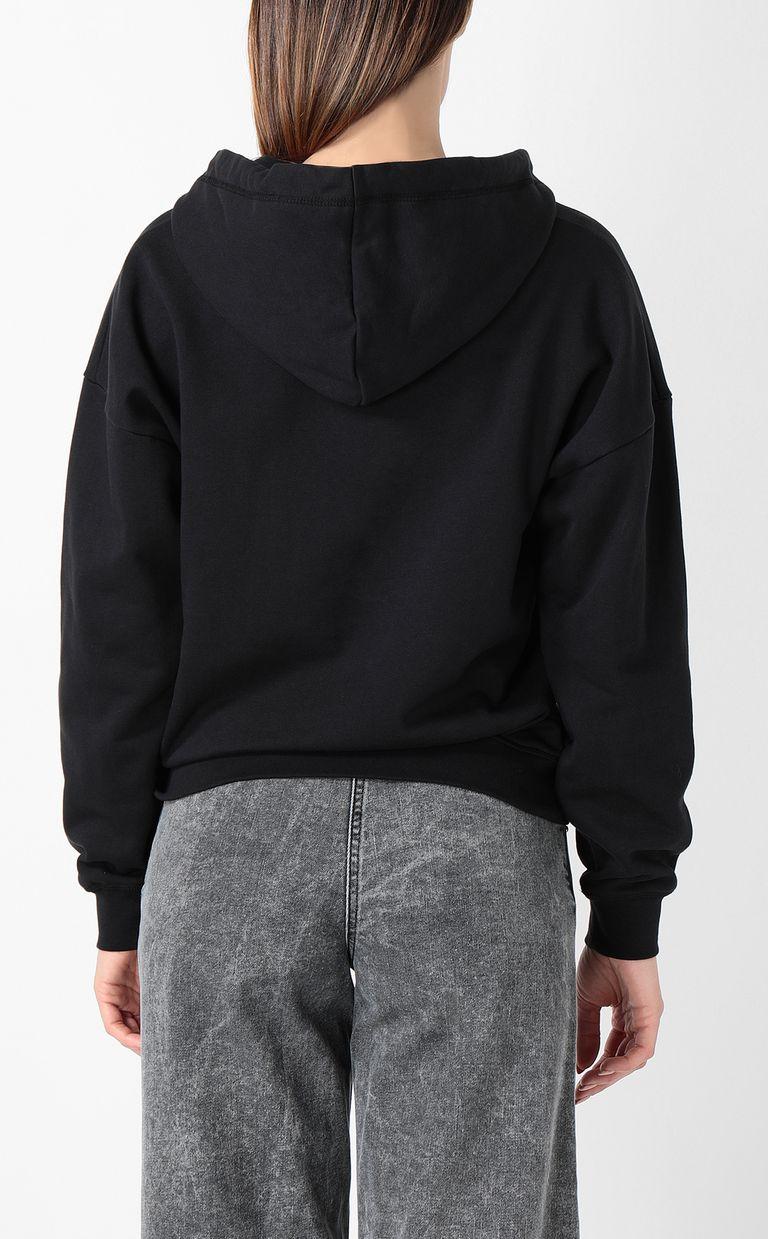 JUST CAVALLI Sweatshirt with logo print Sweatshirt Woman a