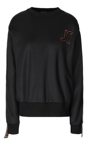 JUST CAVALLI Sweatshirt Woman Velours sweatshirt f