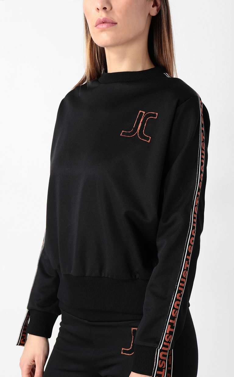 JUST CAVALLI Sweatshirt with Just logo Sweatshirt Woman e