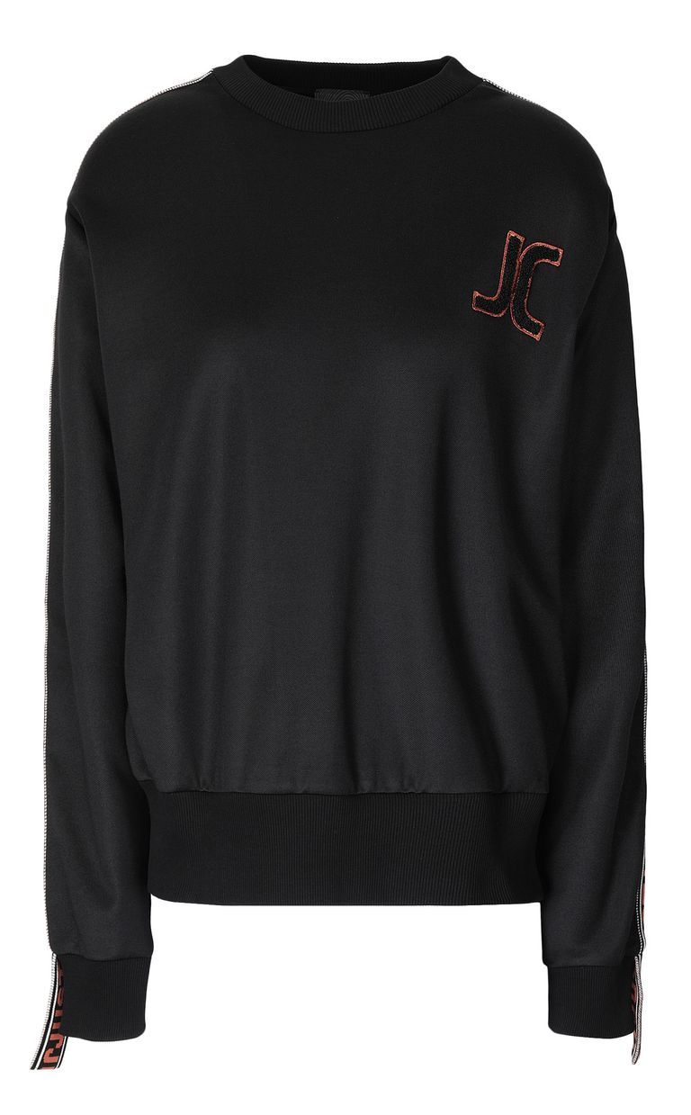 JUST CAVALLI Sweatshirt with Just logo Sweatshirt Woman f