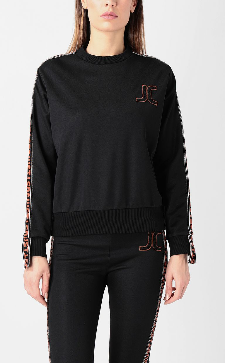 JUST CAVALLI Sweatshirt with Just logo Sweatshirt Woman r