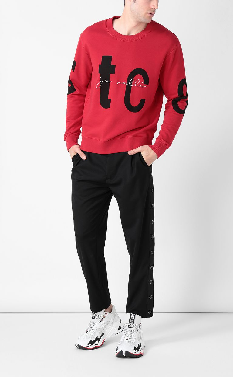 JUST CAVALLI Sweatshirt with STCA logo Sweatshirt Man d