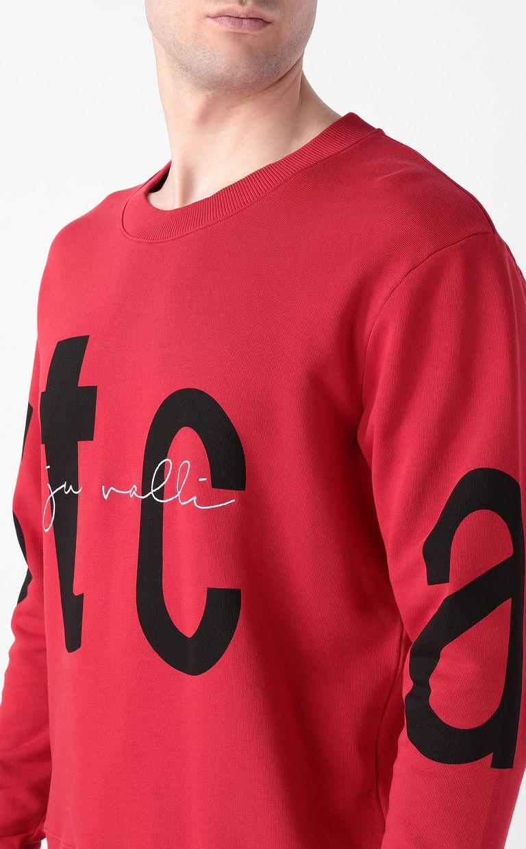 JUST CAVALLI Sweatshirt with STCA logo Sweatshirt Man e