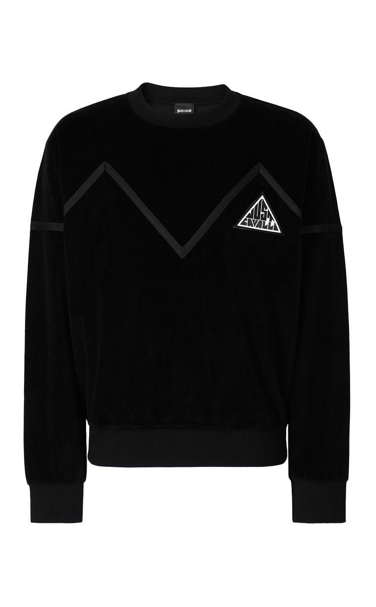 JUST CAVALLI Sweatshirt with Just logo Sweatshirt Man f
