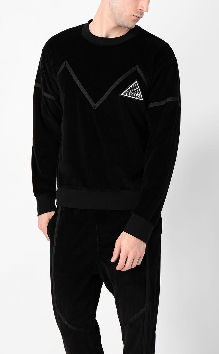 JUST CAVALLI Sweatshirt with Just logo Sweatshirt Man r