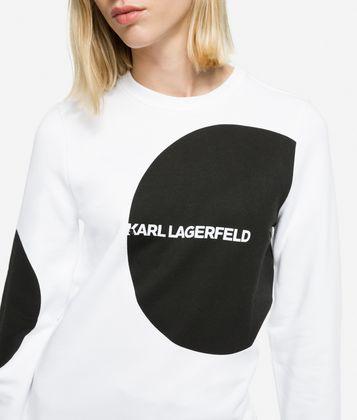 KARL LAGERFELD K/DOTS SWEATSHIRT