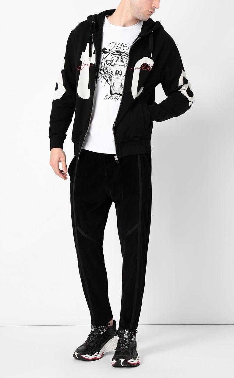 "JUST CAVALLI Sweatshirt with ""STCA"" logo Sweatshirt Man d"