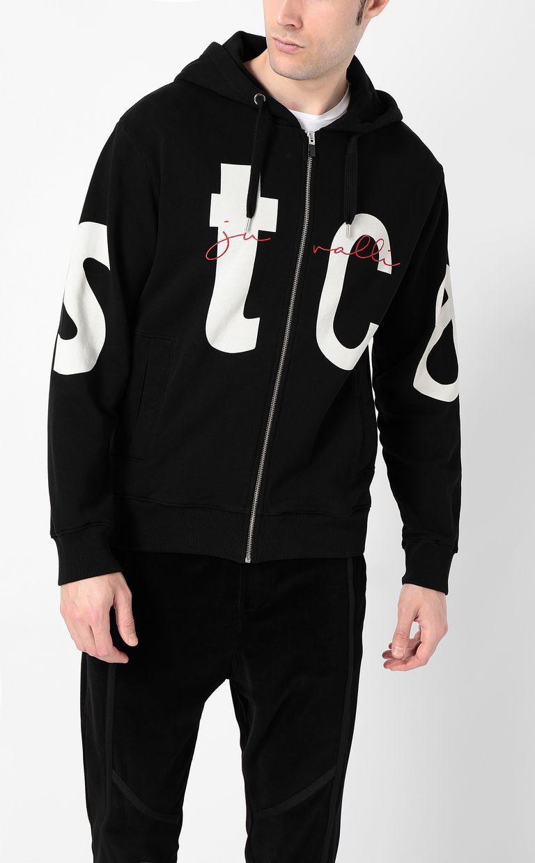 "JUST CAVALLI Sweatshirt with ""STCA"" logo Sweatshirt Man r"