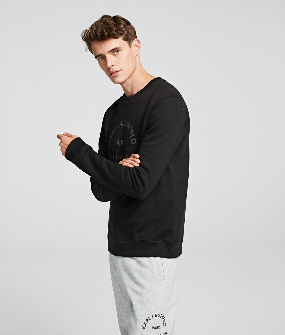 KARL LAGERFELD Rue St Guillaume Logo Sweatshirt Sweatshirt Man d