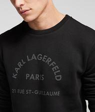 KARL LAGERFELD Rue St Guillaume Logo Sweatshirt 9_f