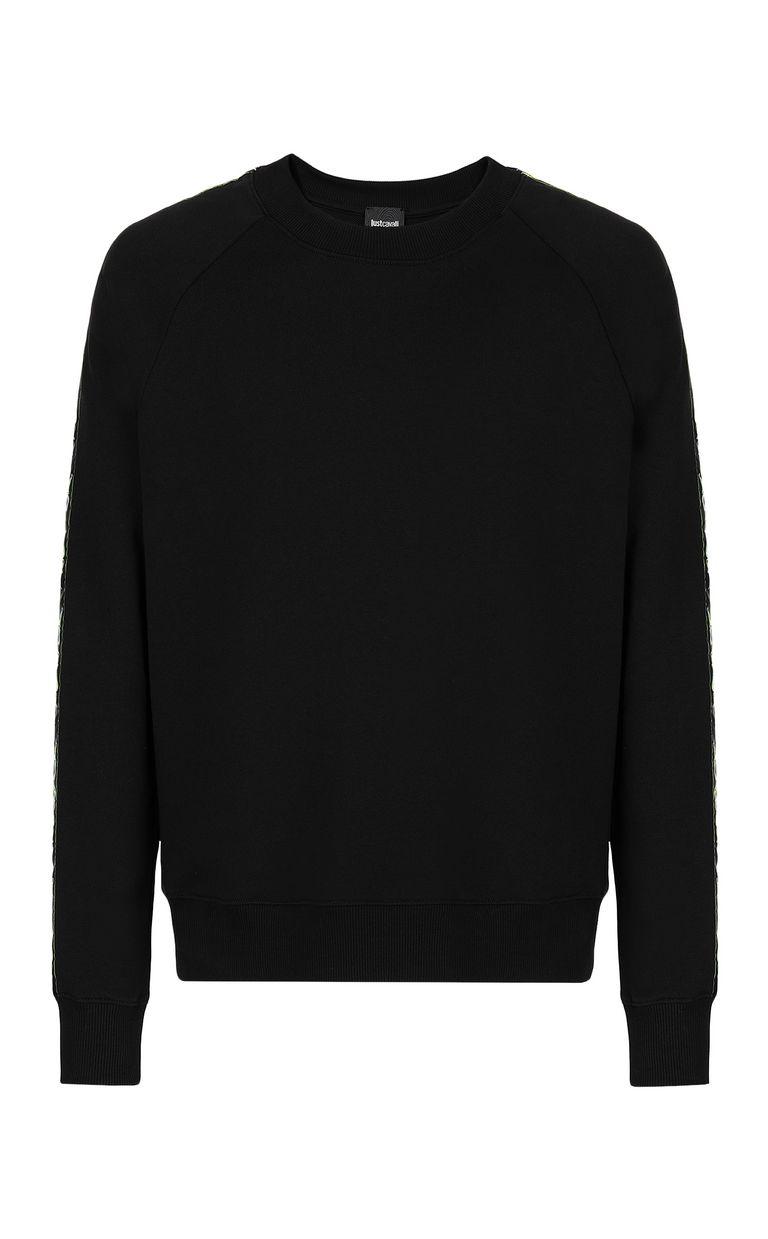 JUST CAVALLI Neon-logo sweatshirt Sweatshirt Man f